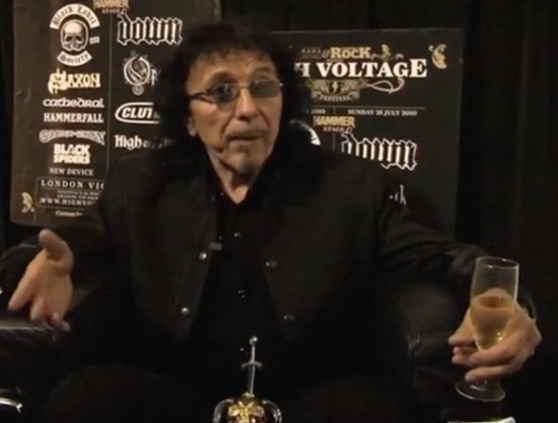 Tony Iommi Black Sabbath – interview – Director: Dave Depares