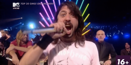 MTV Top 20 OMG! EMA Moments – No.8 Dave Grohl