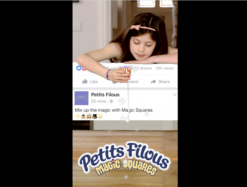 Petits Filous 'Mix Up the Magic' (3 vertical films for Facebook) – Director: Dave Depares