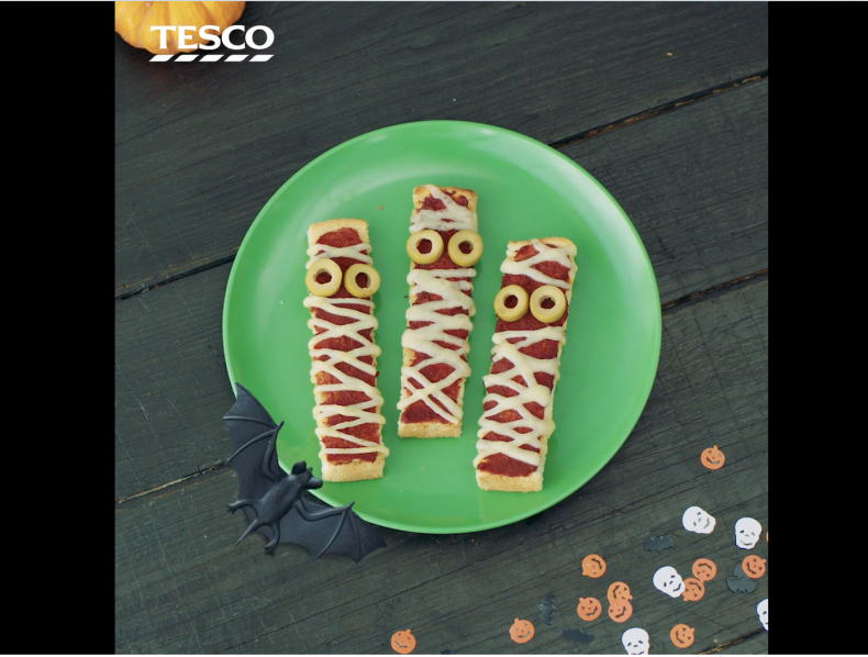 Tesco Halloween (6 Square Instagram/Pinterest films) – Director: Dave Depares